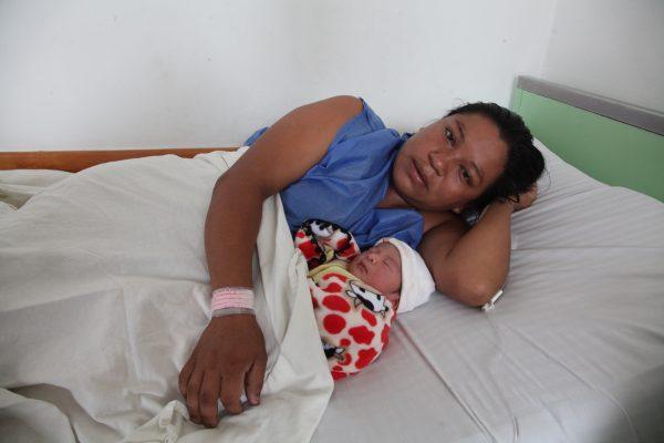Cristell, primera bebé cordobesa del 2018