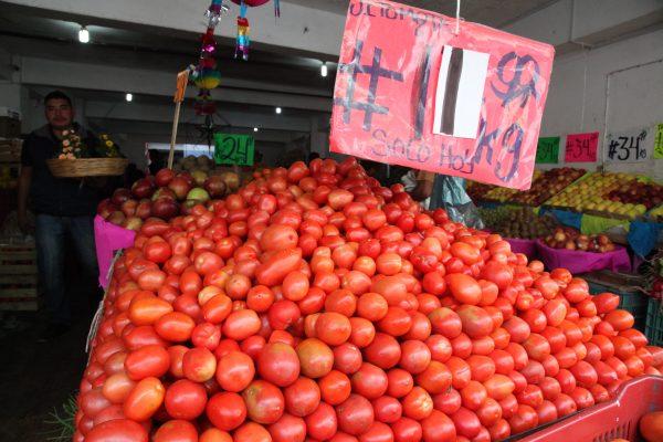 Suben de precio frutas y verduras