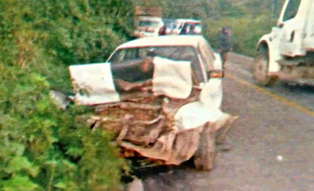 Encontronazo mortal; se impacta contra camión recolector de basura