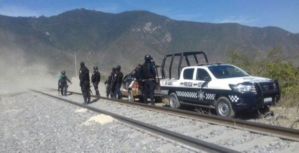 Otra balacera entre presuntos asaltatrenes y Fuerza Civil, en Acultzingo