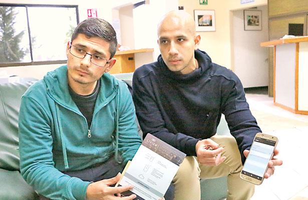 Jóvenes crean dispositivo para proteger información en celulares