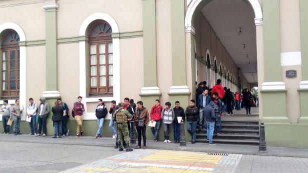 Inicia Sedena recepción de Cartillas Militares en Córdoba