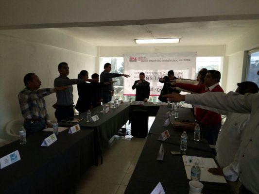 Se instala en Córdoba Consejo Distrital del OPLE rumbo a elección en Veracruz