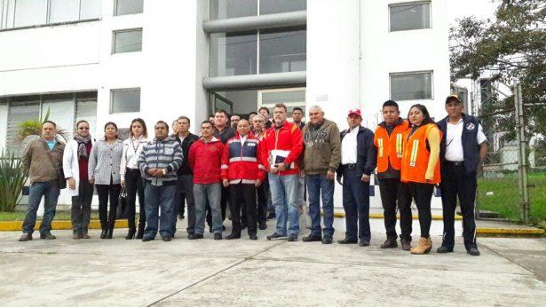 Se reúnen directores de Protección Civil Municipal con coordinador Regional
