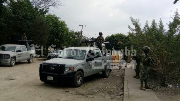 Blinda Marina y SSP  zona de Paso Amapa