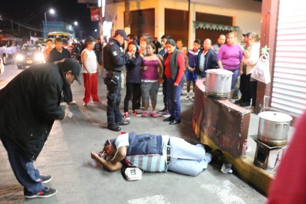 Matan a tamalero en la colonia Nuevo Toxpan