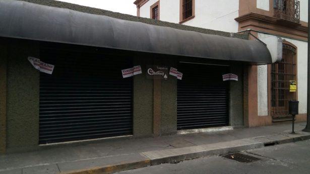 SAT clausura taquería en el centro de Córdoba