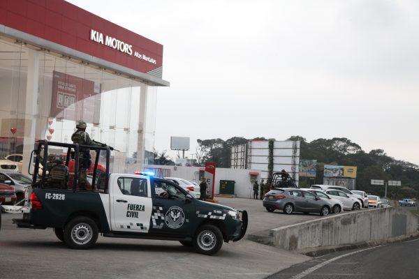 Movilización policiaca en Córdoba por intento de plagio