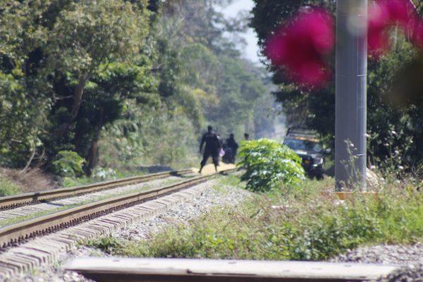Elementos del IPAX frustran robo en tren de carga