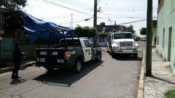 Corto circuito provoca incendio en la colonia Márquez Hoyos