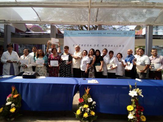 Recibieron reconocimientos y medallas 16 trabajadores por antigüedad laboral en la JS de Córdoba