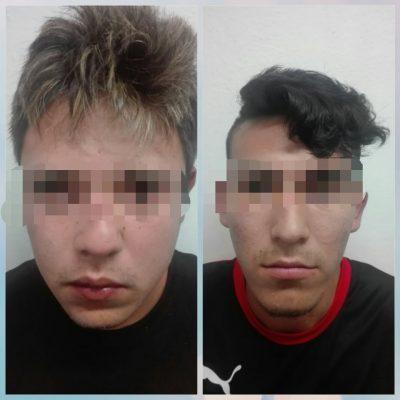 Captura policía a dos hombres acusados de abusar de una mujer