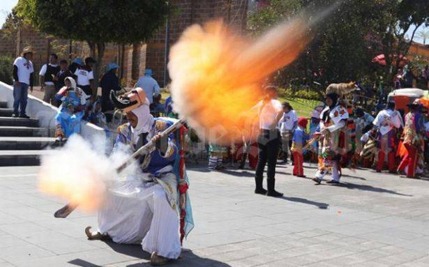 Se descalabra niño carnavalero en San Pedro Cholula