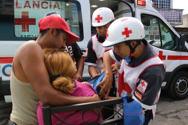 Enero violento en la zona centro: Cruz Roja