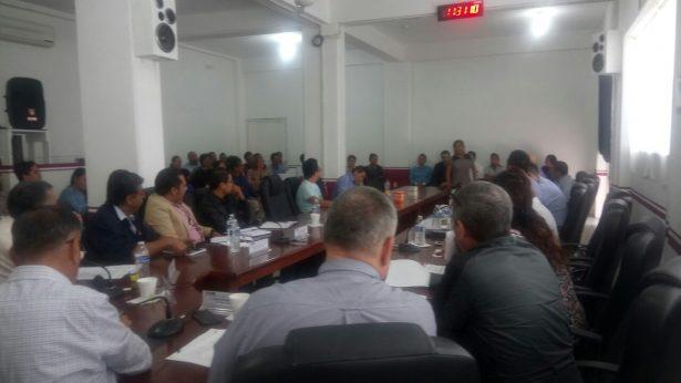 En sesión aprueban supervisores electorales del INE en el distrito 19