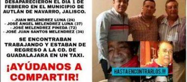 Presionan familiares de veracruzanos a la fiscalía de Jalisco