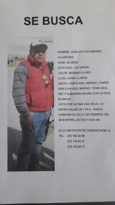 Desaparece joven de Cuautlapan