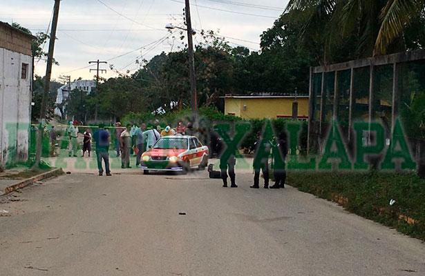 Taxista asesinado a balazos