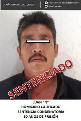 Sentencian a 30 años a homicida