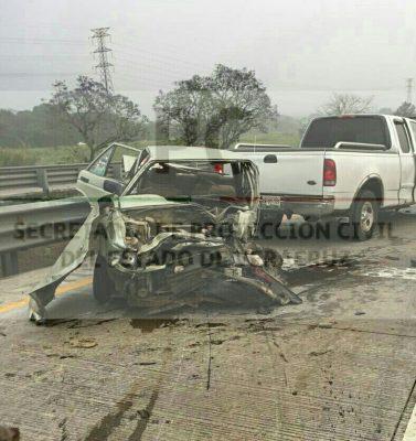 Mujer pierde la vida en accidente