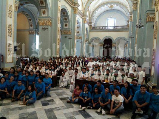 Fueron enviados 257 jóvenes misioneros a comunidades para apoyar en evangelización en Semana Santa