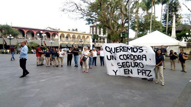 Marchan por la paz
