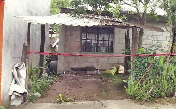 Matan a golpes a mujer dentro de su casa