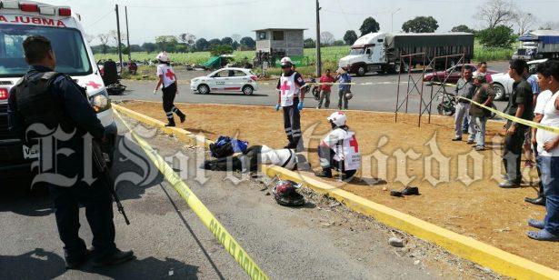 Atropellan y matan a motociclista