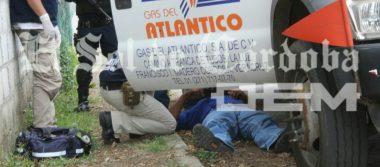 Hieren a cachazos a repartidor en asalto