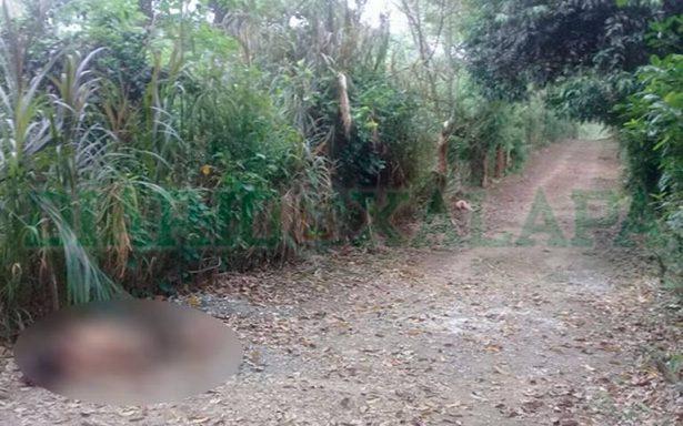 Tiran cuerpos de dos mujeres en camino de terrecería