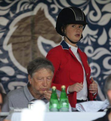 Bill Gates está en Xalapa; su hija compite en Club Hípico