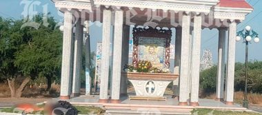 Arrojan cadáver desmembrado frente a capilla