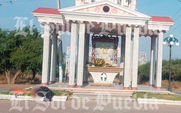 Arrojan cadáver desmembrado frente a capilla de Yehualtepec