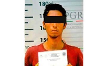 Diez años de cárcel a joven huachicolero