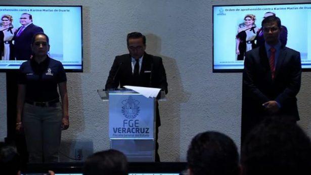 Giran orden de aprehensión contra Karime Macías Tubilla