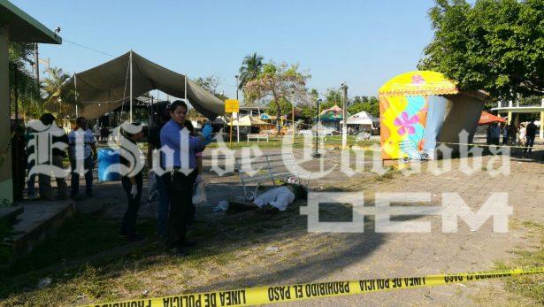 Hombre es ejecutado a balazos en un parque