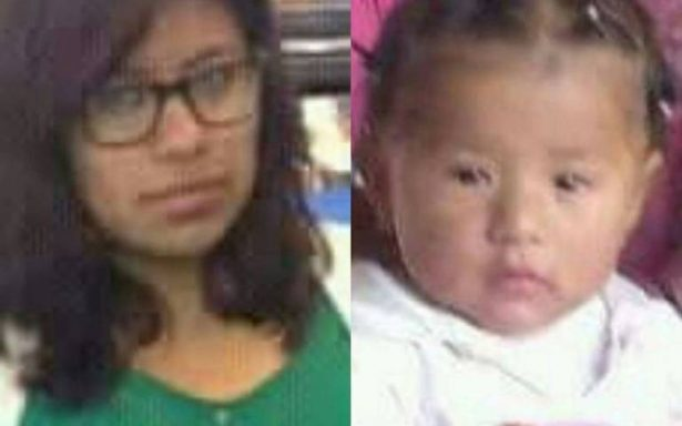 Desaparecen madre e hija de un año