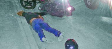 Muere al derrapar su motocicleta