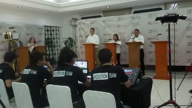 Con la participación de tres candidatos inicia el debate de candidatos a diputado local del distrito 19
