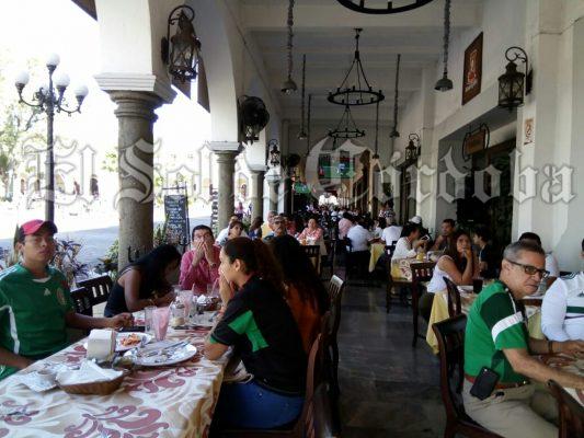 Al tope restaurantes por partido México- Corea del Sur