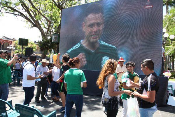 Cordoba celebra primer triunfo del TRI