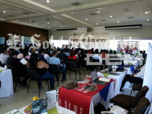 "Se realiza la ""5ª Expo Empléate UTCV"""