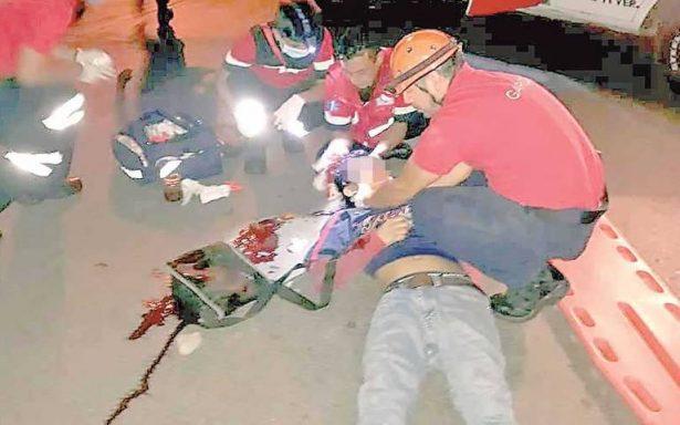 Pandilleros golpean a joven para asaltarlo; lo dejaron inconsciente