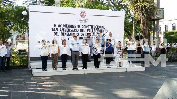 Conmemoran 146 aniversario luctuoso del benemérito de las Américas Benito Juárez Garcia