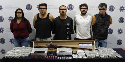 Encuentran presunta narcotienda