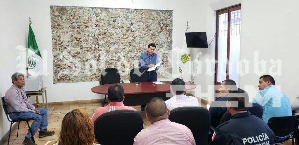 Fiscal Regional de la zona centro se reúne con comandantes de la Policía Municipal