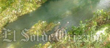 Desaparecido es hallado muerto en el río