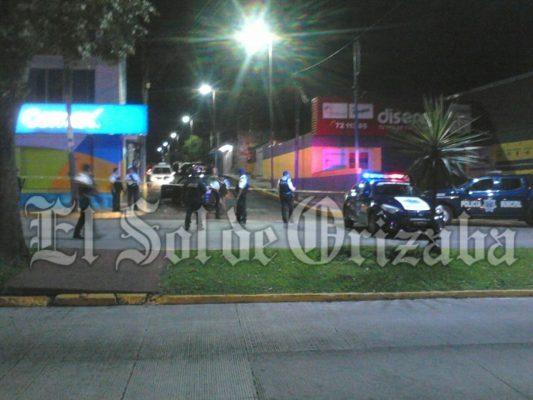 Balacera en Orizaba; tres muertos