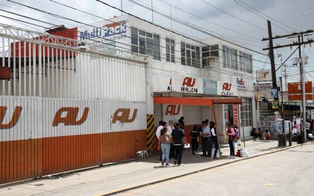 Roban caja fuerte de terminal de autobuses AU
