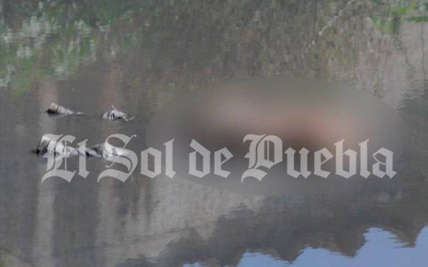 Putrefacto lo encuentran flotando en el río